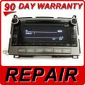 Toyota Venza Repair Service Radio CD Player A518AC A518AD