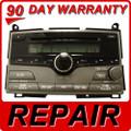Toyota Venza Repair Service 6 disc changer cd player jbl oem