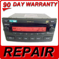 Toyota Matrix CD Player Repair Service A51816 Radio fix oem