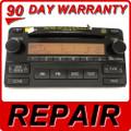 Toyota Matrix 6 Disc Changer CD Player Repair Service oem