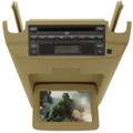 BUICK Terraza CHEVY Uplander SATURN Relay PONTIAC Montana Overhead DVD Player Flip-down Screen Monitor RCA 2005 2006 TAN