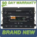 07 09 Ford MUSTANG Radio AUX MP3 6 Disc CD Changer Sirius Satellite SHAKER 1000