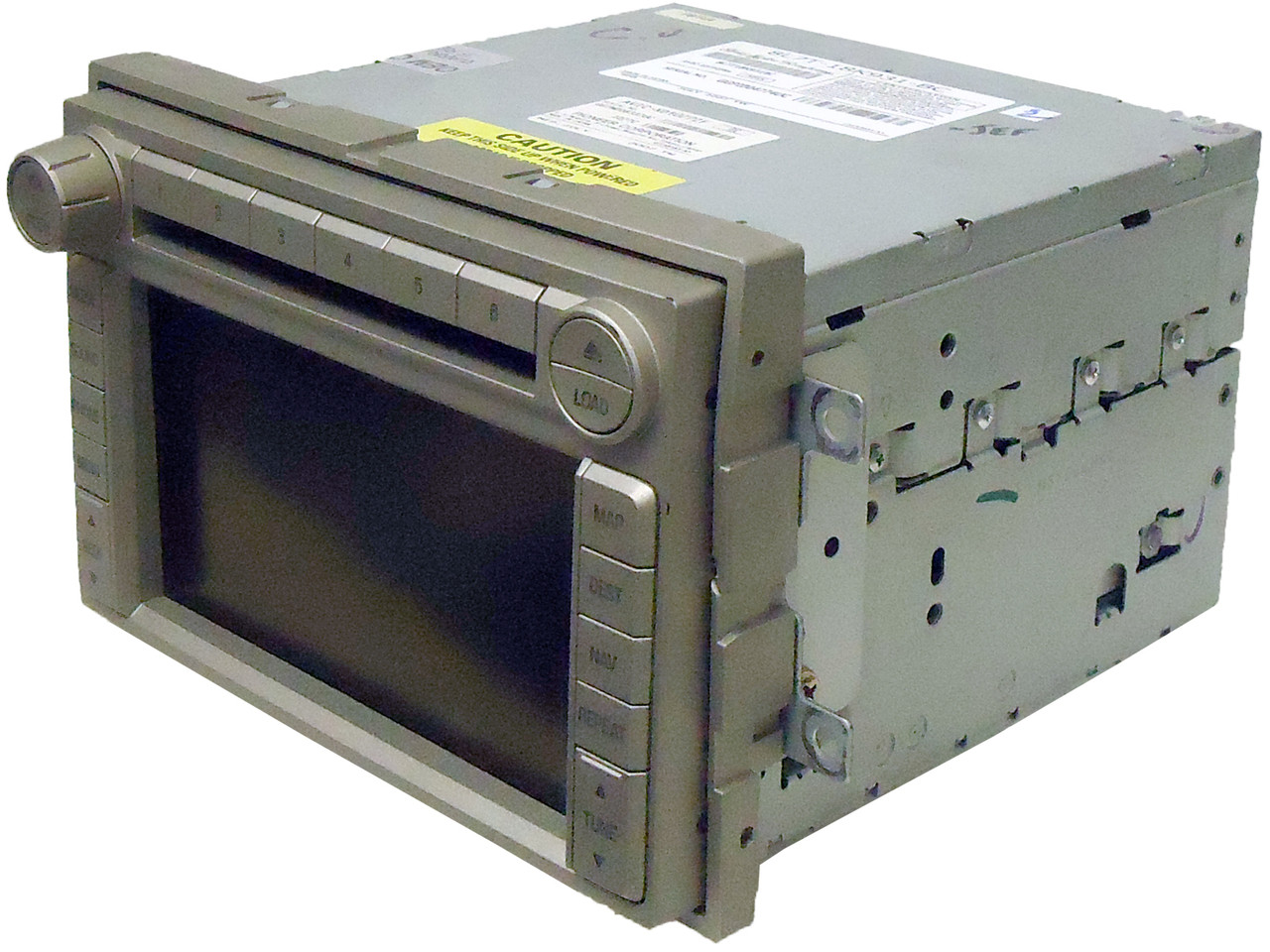 2008 08 lincoln navigator radio gps navigation stereo 6. Black Bedroom Furniture Sets. Home Design Ideas