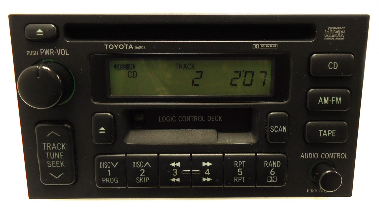 Repair Service Only Toyota Am Fm Radio Stereo Single Cd Player Factory Oem Fix