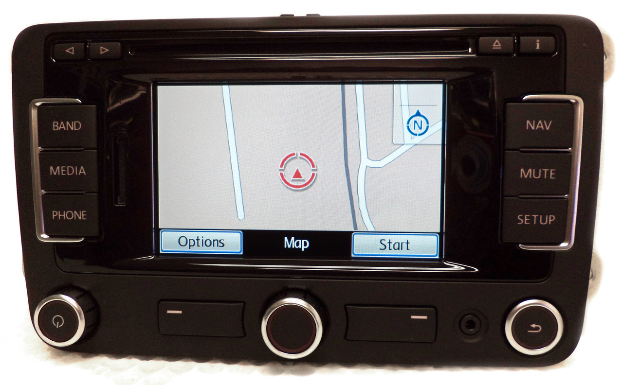 vw volkswagen rns 315 navigation gps am fm sat radio. Black Bedroom Furniture Sets. Home Design Ideas