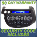 09 10 11 12 13 Honda Fit Radio CD Player AUX MP3
