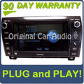 E7043 2013 Toyota Sequoia Navigation gps system radio cd player
