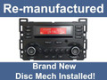 Remanufactured 06 07 08 09 Pontiac G6 Radio Stereo 6 Disc Changer CD Player 25890720