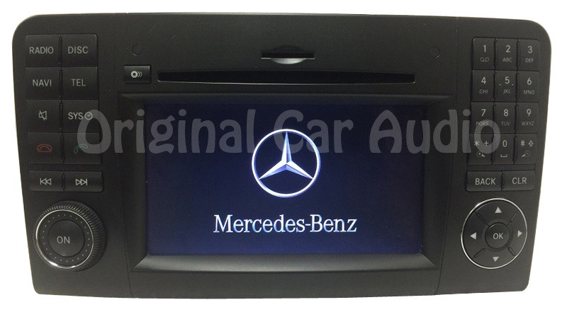mercedes benz ml gl class navigation gps radio cd player. Black Bedroom Furniture Sets. Home Design Ideas
