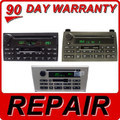 REPAIR YOUR 03 -10 FORD Lincoln Mercury Town Car LS Grand Marquis Radio Stereo AM FM Single CD Player
