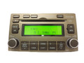 2007 2008 Hyundai Azera INFINITY SAT Radio Stereo 6 Disc Changer MP3 CD Player TAN