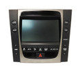 06 Lexus GS300 GS430 Information Monitor Screen with Climate Controls 86111-30400 2006