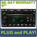 Ford Lincoln Mercury Single MP3 CD Player Satellite Radio 98 99 2000 01 02 03 04 05 06 2007