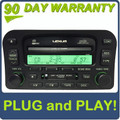 01 02 Lexus LX470 Radio Tape Cassette Mark Levinson Radio 6 CD Changer P6808