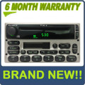BRAND NEW 1998 - 2005 Ford / Lincoln / Mercury  Radio CD player Silver