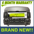 Brand New HYUNDAI Sonata INFINITY Radio Stereo 6 Disc Changer MP3 CD Player XM Satellite Ready OEM 2006 2007 2008 Dark Grey