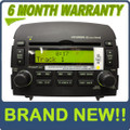 Brand New HYUNDAI Sonata XM Satellite Radio Stereo 6 Disc Changer CD MP3 Player OEM 2006 2007 2008
