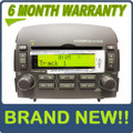 Brand New 06 07 08 HYUNDAI Sonata OEM XM Satellite Radio Stereo 6 Disc Changer CD MP3 Player GREY