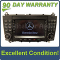 2005 2006 2007 Mercedes-Benz C Class OEM Comand Navigation Radio CD Player TYPE 203