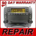 03 04 05 06 07 REPAIR YOUR CADILLAC CTS SRX OEM Radio Single CD Player REPAIR 2003 2004 2005 2006 2007