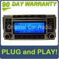Hyundai OEM Radio CD Player MP3 XM Aux Stereo Sat