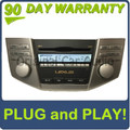 Lexus Pioneer AM FM receiver 6 disc CD player AP1811 P1806