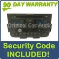 01 02 03 04 Acura MDX BOSE Radio Tape CD Player 1XF1 1XF3