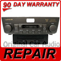 REPAIR 04 05 06 Lexus LS430 LS 430 6 Disc CD Changer Player FIX P6835 8612050B90