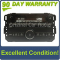 Saturn Pontiac radio MP3 6 disc changer aux 2007 2008