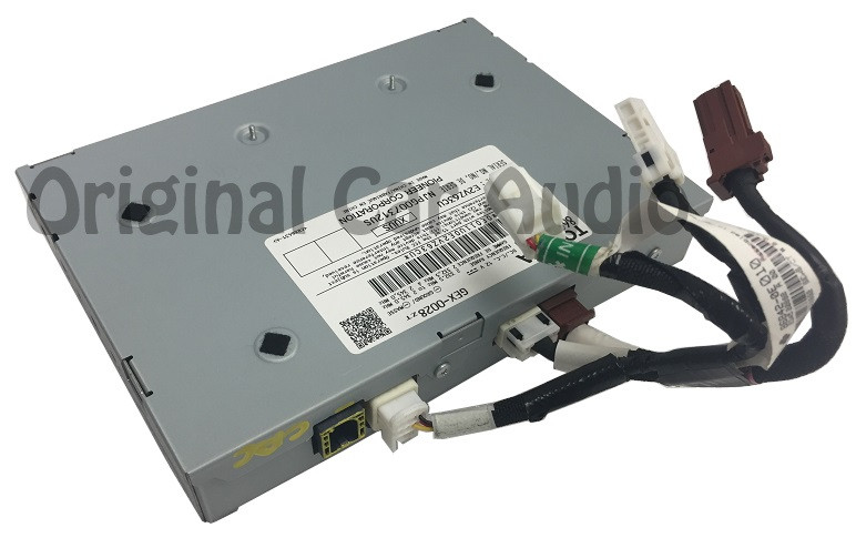 14 15 toyota satellite radio receiver module and wire connector unit is satellite tuner receiver and wire connector harness part number 86180 0e011 86180 0e021 86180 35050 receiver 86842 0e010 harness