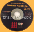 Toyota Lexus Navigation Map DVD 86271-48242 DATA Ver. 12.1 U27
