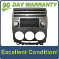 Mazda 5 radio receiver single CD player AM FM sat OEM