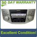 Lexus radio 6 disc CD changer tape cassette deck player OEM