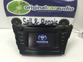 2012-2014 Toyota Prius V Touch Screen Bluetooth AM FM Radio And CD Player