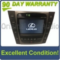2007 Lexus GS450H Navigation GPS CD Radio Display Information Screen OEM Climate Control
