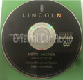 Lincoln Navigation System GPS DVD Drive Disc 5W4T-10E989-AA Map Release 3D