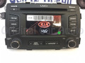2012 2013 Kia Sorento OEM Radio CD Player Bluetooth Sirius XM MP3 Touch Screen UVO