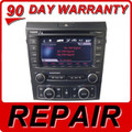 REPAIR SERVICE Pontiac Radio 6 Disc CD Changer TouchScreen BLAUPUNKT XM aux