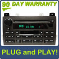 03 04 05 Lincoln Town Car OEM RDS Premium Sound/Audiophile Radio Cassette Tape Single CD Player
