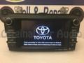 2013 - 2016 Toyota Rav4 OEM Entune Navigation Gracenote SAT HD Radio  CD Player Receiver 100575