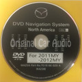 2009 2010 2011 Mazda OEM DVD Navigation System Disc A TE69 66 DZ0 A (K4238)