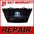 REPAIR YOUR 2014 Prius Toyota JBL Radio Navigation E7034 CD Receiver Tuner OEM