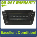 2010 - 2011 Lexus GS350 GS460 OEM 6 CD AM FM SAT USB Radio Reciever P1877