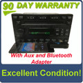 1998 - 2007 Ford Lincoln Mercury Single MP3 CD Player Satellite Radio ADDED AUX and Bluetooth Adapter
