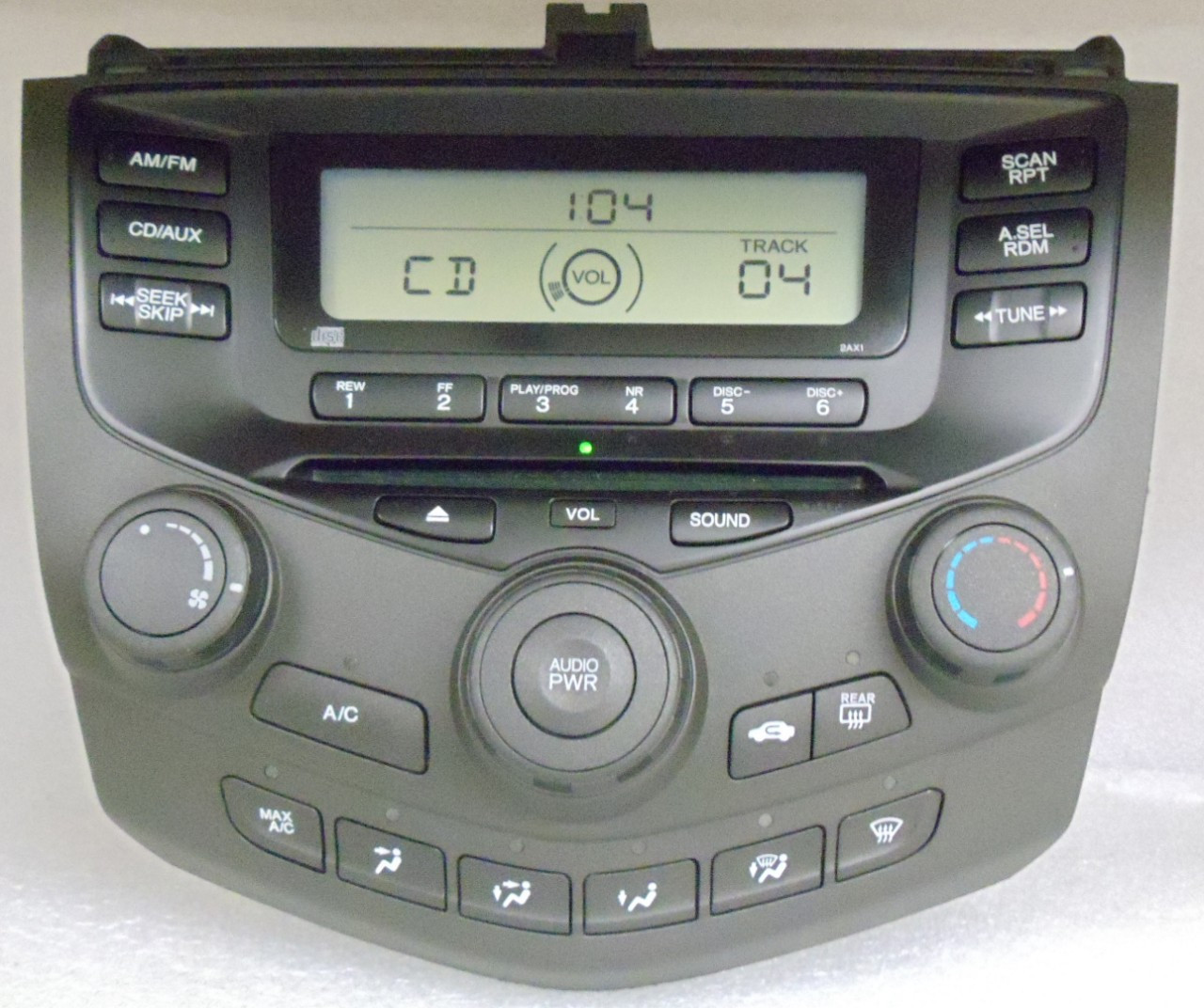 2aa0 2003 04 05 06 2007 honda accord radio cd player. Black Bedroom Furniture Sets. Home Design Ideas