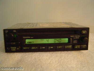 1990 2002 toyota tundra tacoma sienna celica radio cd player. Black Bedroom Furniture Sets. Home Design Ideas