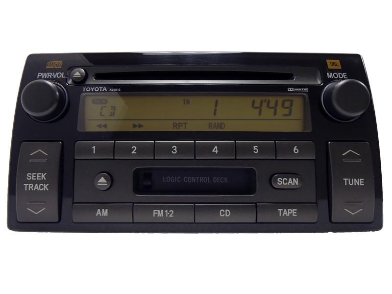 ad6810 2005 2006 toyota camry se cd player radio tape. Black Bedroom Furniture Sets. Home Design Ideas