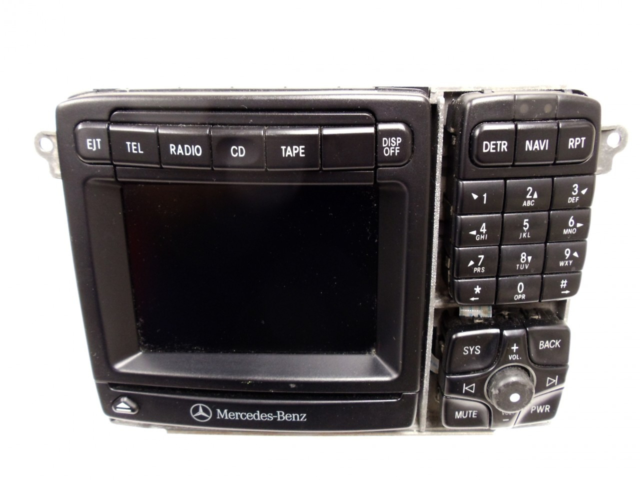 01 03 mercedes s class cl class navigation radio cd player. Black Bedroom Furniture Sets. Home Design Ideas