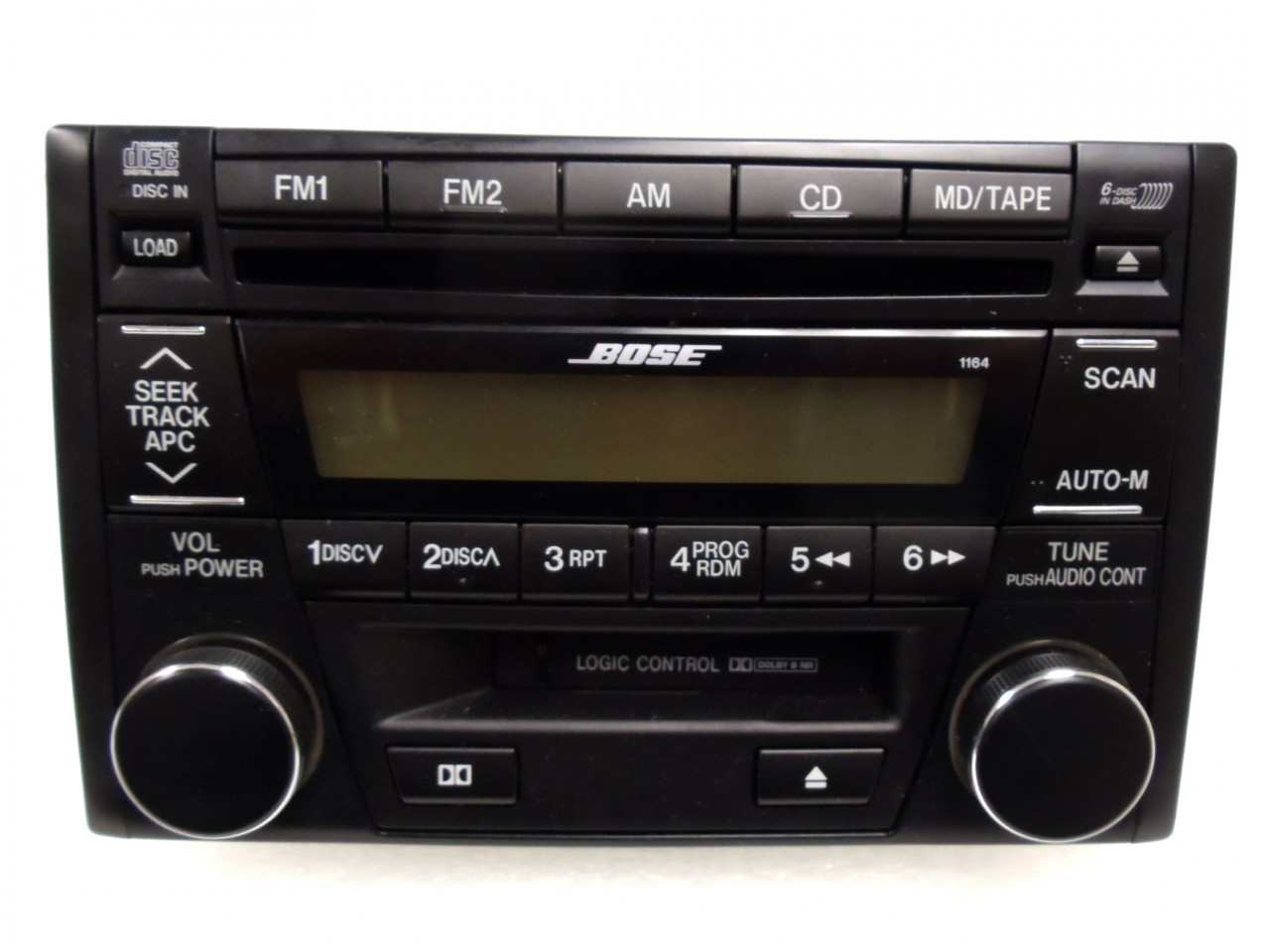 Mazda Millenia 626 Bose Radio Stereo 6 Disc Changer Cd Player 1164 2001 2002 01 02