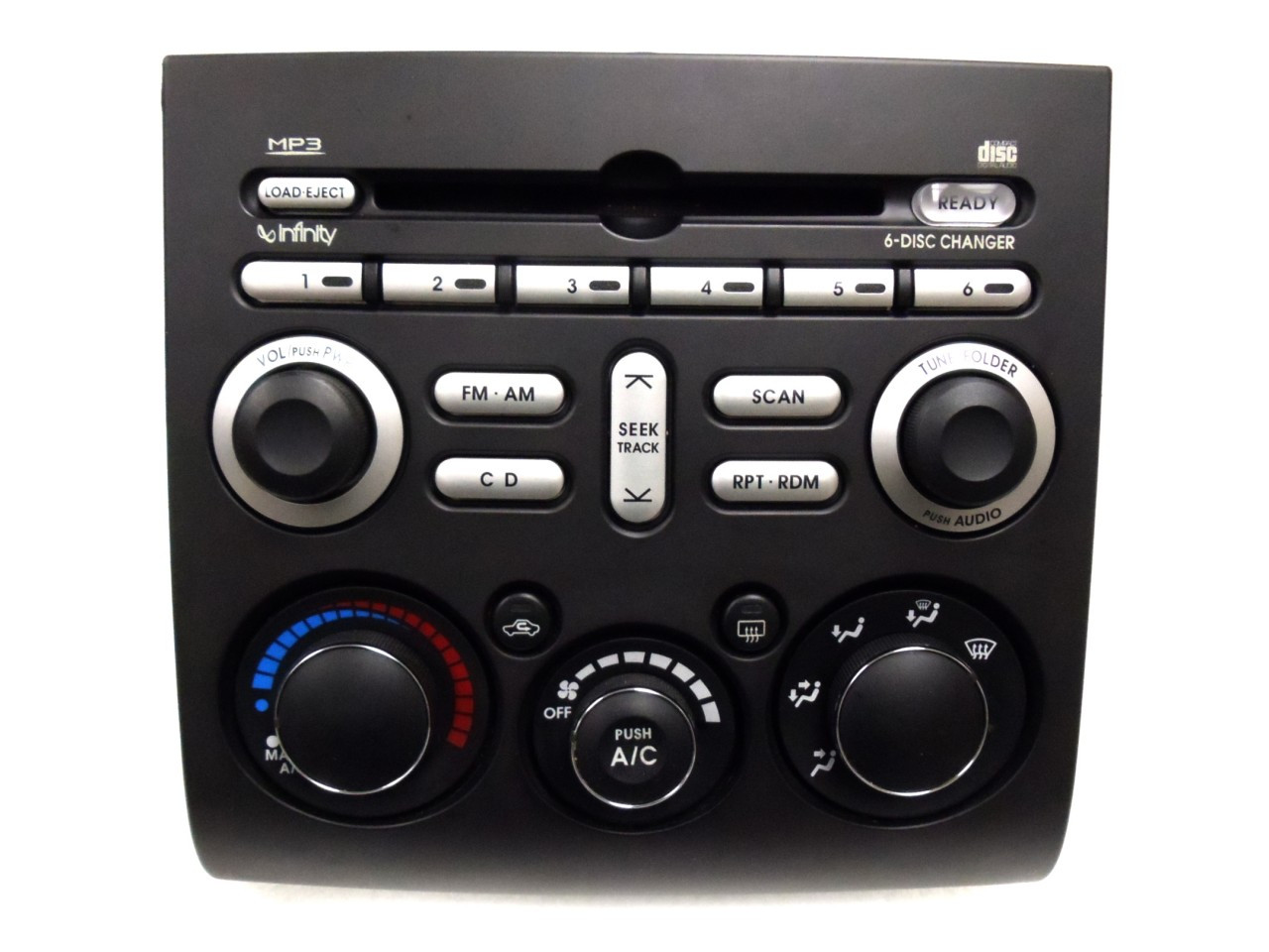 Mitsubishi Galant Endeavor Radio Stereo 6 Disc Changer Mp3